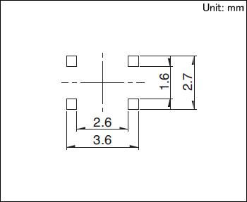 表面贴装式 TACT Switch™「轻触开关」