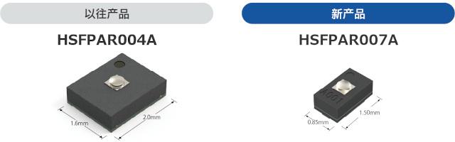 """开发出力传感器""""HSFPAR007A""""并开始量产"""