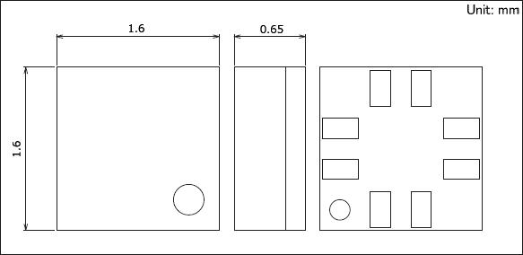 3軸地磁式传感器